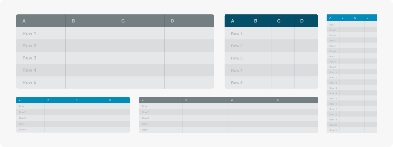 Resultado de imagen para tabla responsiva