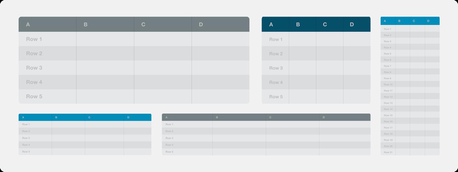 Tablas html responsive mediante media queries de css for Html table border width