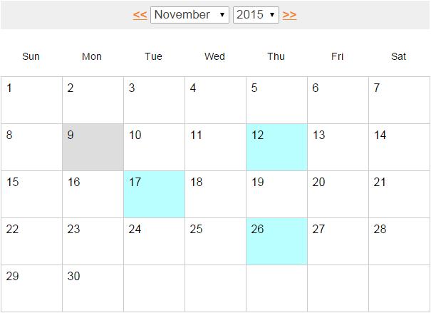 Anadir Calendario.Como Desarrollar Un Calendario De Eventos Utilizando Jquery